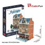 Cubic-Fun-HO4101h 3D Jigsaw Puzzle - Jigscape Collection - West End Theatre (Difficulty: 5/6)