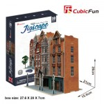 Cubic-Fun-HO4103h 3D Jigsaw Puzzle - Jigscape Collection - Auction House & Stores (Difficulty: 5/6)
