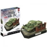Cubic-Fun-JS4203h 3D Puzzle - British Cromwell Mk. IV - Difficulty: 5/8