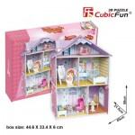 Cubic-Fun-K1201h 3D Jigsaw Puzzle - Pianist's Home (Difficulty: 4/6)