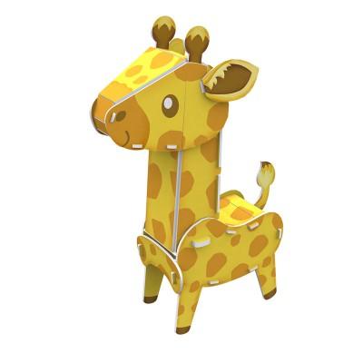 Cubic-Fun-K1503H 3D Puzzle - Giraffe - Difficulty : 3/8