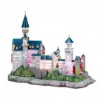 Cubic-Fun-L174H 3D Puzzle with LED - Germany: Neuschwanstein Castle - Difficulty 6/8