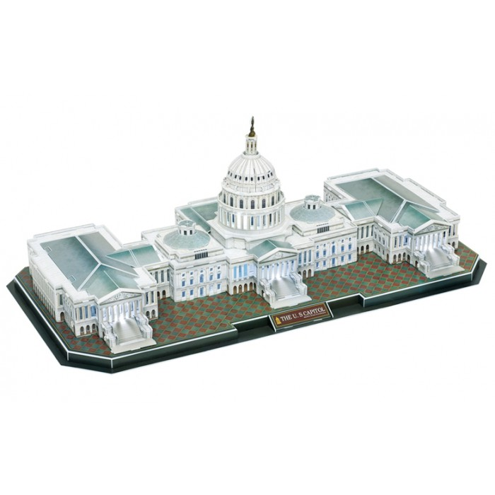 3D Puzzle with LED - The US Capitol - Difficulty 6/8