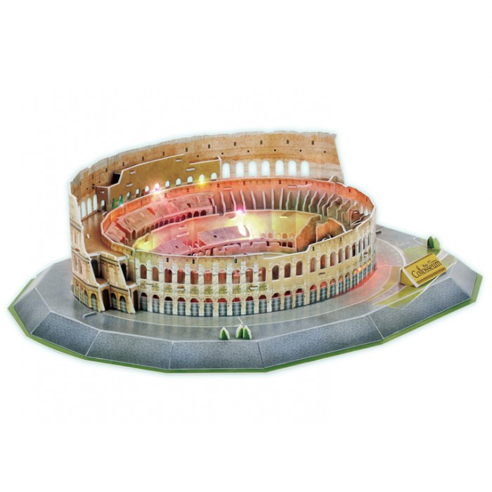 3D Puzzle with LED - Colosseum - Difficulty 6/8