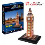 Cubic-Fun-L501H 3D Puzzle with LED - Big Ben