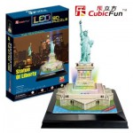 Cubic-Fun-L505H 3D Jigsaw Puzzle with LED Light - Statue of Liberty