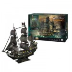 Cubic-Fun-L520h 3D Puzzle with LED - Queen Anne's Revenge - Difficulty: 8/8