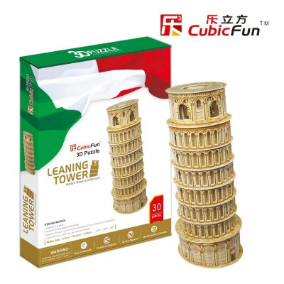 Cubic-Fun-MC053H 3D Puzzle - PisaTower (Difficulty : 5/8)