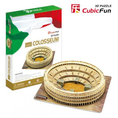 Cubic-Fun-MC055H 3D Puzzle - Italy, Rome: The Coliseum
