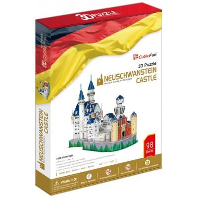 Cubic-Fun-MC062H 3D Puzzle - Germany: Neuschwanstein Castle