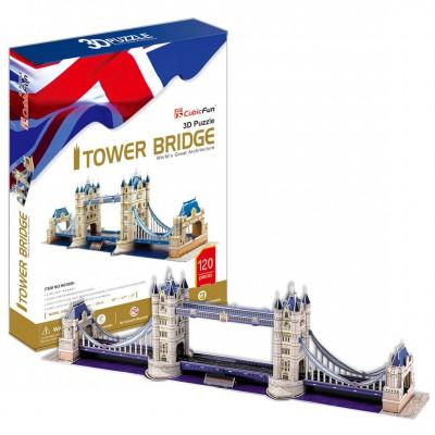 Cubic-Fun-MC066H 3D Puzzle - London: Tower Bridge (Difficulty: 6/8)