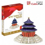 Cubic-Fun-MC072H 3D Puzzle - China, Beijing : The Temple of Heaven (Difficulty: 6/8)