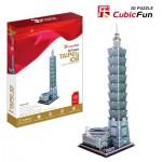 Cubic-Fun-MC085H 3D Puzzle -Taipei