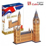 Cubic-Fun-MC087H 3D Puzzle - London: Big Ben (Difficulty: 7/8)