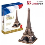 Cubic-Fun-MC091H 3D Puzzle - France, Paris: Eiffel Tower