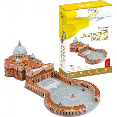 Cubic-Fun-MC092H 3D Puzzle - Saint Peter's Basilica in Rome