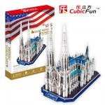 Cubic-Fun-MC103H 3D Puzzle - Saint Patrick's Cathedral