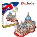 Cubic-Fun-MC117H 3D Puzzle - United Kingdom: St. Paul's Cathedral of London (Difficulty: 6/8)