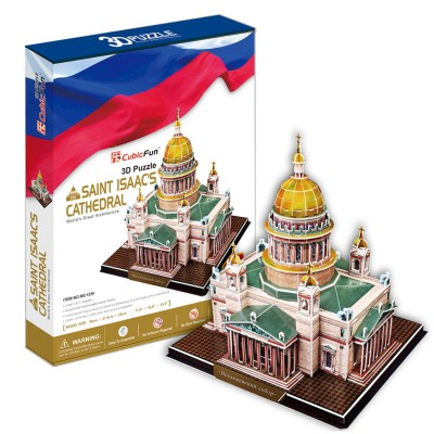 Cubic-Fun-MC122H 3D Puzzle - Russia: St. Isaac's Cathedral of St. Petersburg (Difficulty: 6/8)