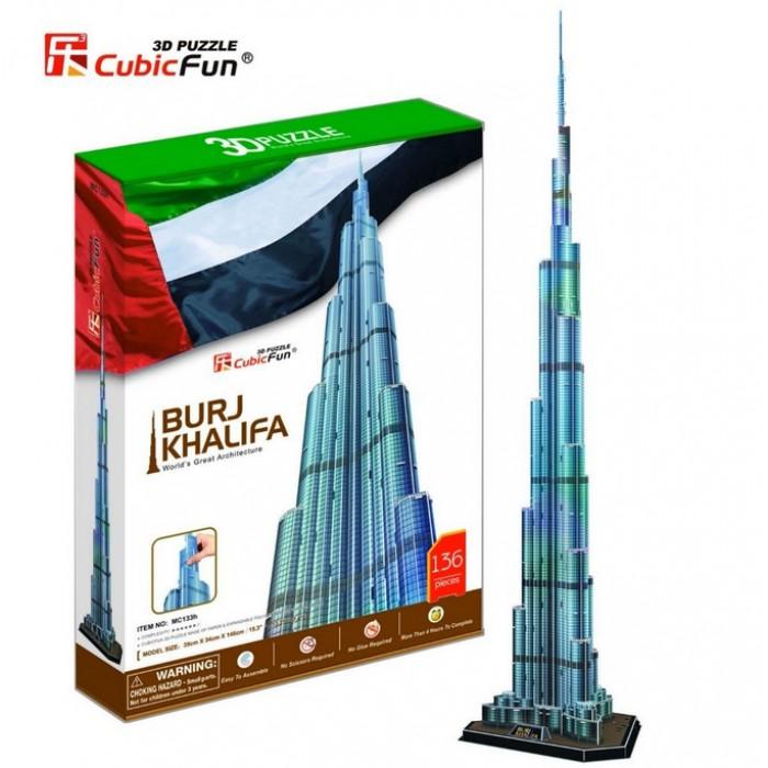 3D Puzzle - Burj Khalifa, Dubai