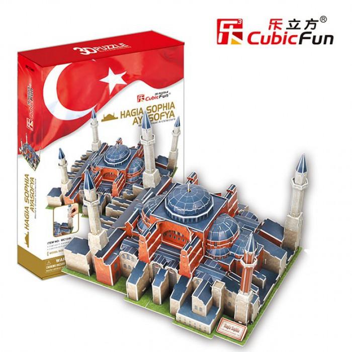 3D Puzzle - Turkey, Istanbul: St. Sophia Basilica (Difficulty: 7/8)