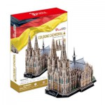 Cubic-Fun-MC160H 3D Puzzle - Germany: Cologne Cathedral (Difficulty: 7/8
