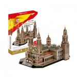 Cubic-Fun-MC184H 3D Puzzle - Catedral de Santiago de Compostela - Difficulty : 4/8