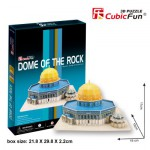Cubic-Fun-MC189H 3D Puzzle - Dome of the Rock - Difficulty : 4/8