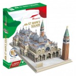 Cubic-Fun-MC209h 3D Jigsaw Puzzle - St. Mark's Square (Difficulty: 5/8)