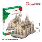 Cubic-Fun-MC210h 3D Jigsaw Puzzle - Duomo di Milano (Difficulty: 8/8)
