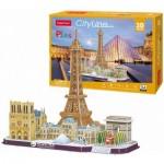 Cubic-Fun-MC254h 3D Puzzle - Paris - Difficulty: 4/8