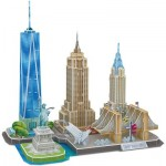 Cubic-Fun-MC255h 3D Puzzle - New York - Difficulty: 4/8