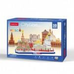 Cubic-Fun-MC266H 3D Puzzle - Cityline - Moscow