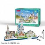 Cubic-Fun-MC267H 3D Puzzle - Cityline - Bavaria