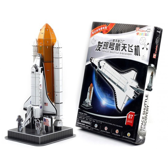 3D Puzzle - Discovery Space Shuttle
