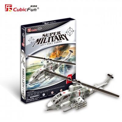 Cubic-Fun-P603H 3D Puzzle- AH-1 Huey Cobra