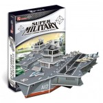 Cubic-Fun-P631H 3D Puzzle - Charles de Gaulle Aircraft Carriers (Difficulty: 4/8)