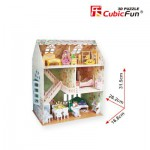 Cubic-Fun-P645H 3D Puzzle - Dreamy Dollhouse - Difficulty : 4/8