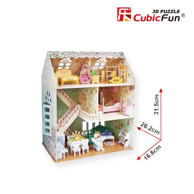 Cubic-Fun-P645H 3D Puzzle - Dreamy Dollhouse - Difficulty : 4/8