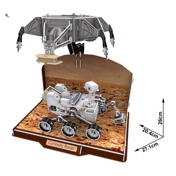 Puzzle 3D - Curiosity Rover