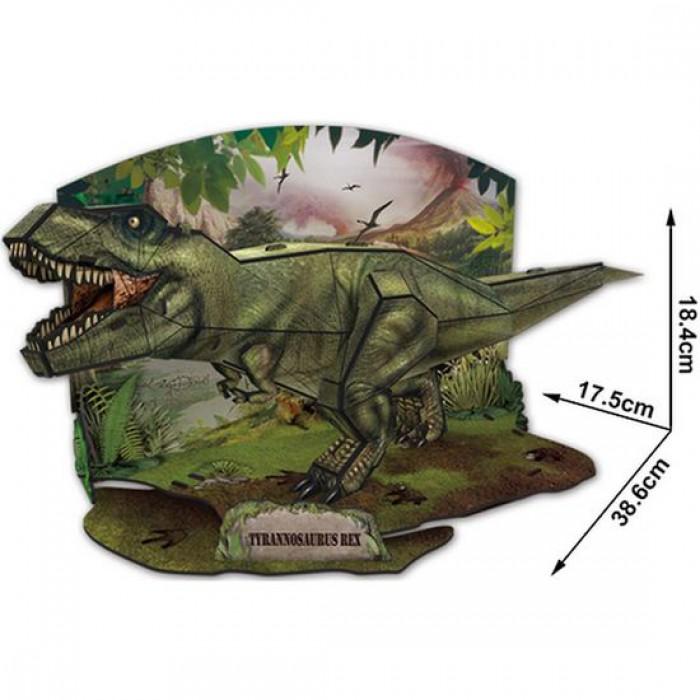 3D Jigsaw Puzzle - T-Rex