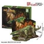 Cubic-Fun-P670H 3D Jigsaw Puzzle - Stegosaurus