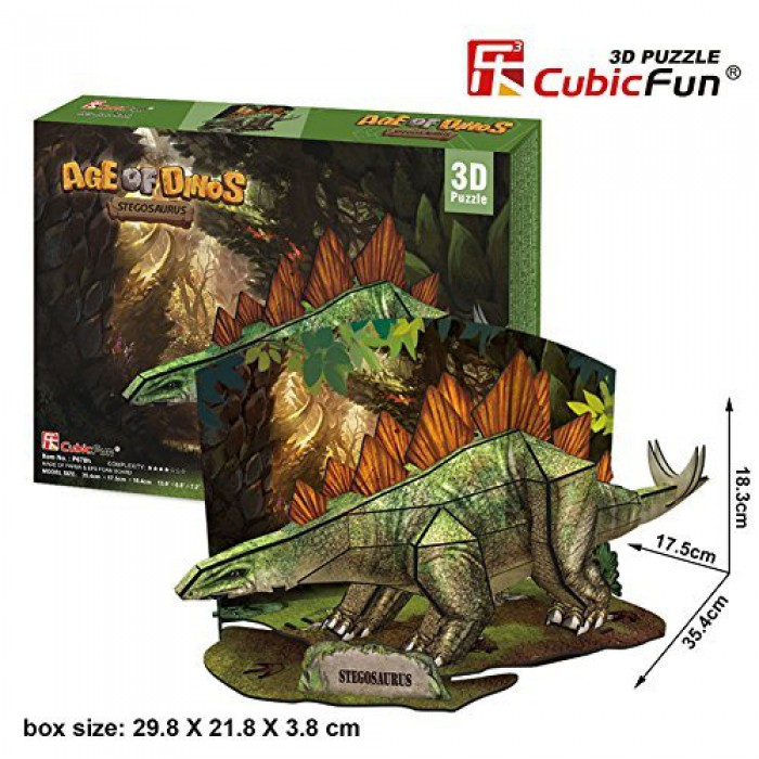 3D Jigsaw Puzzle - Stegosaurus
