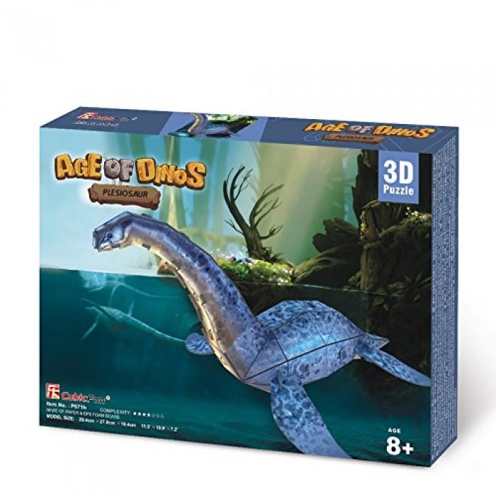 3D Jigsaw Puzzle - Plesiosaur