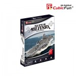 Cubic-Fun-P677h 3D Jigsaw Puzzle - USS Enterprise - London (Difficulty: 4/6)