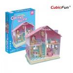 Cubic-Fun-P679h 3D Jigsaw Puzzle - Carrie's Home (Difficulty: 4/6)