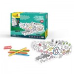 Cubic-Fun-P697h 3D Puzzle - Coloring Crocodile