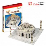 Cubic-Fun-S3009H 3D Mini Series Puzzle- India : Taj Mahal (Difficulty 2/8)