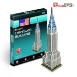 Cubic-Fun-S3013H 3D Mini Series Puzzle- USA, New-York : Chrysler Building (Difficulty 2/8)