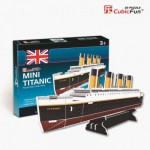Cubic-Fun-S3017H 3D Mini Series Puzzle- Titanic (Difficulty 2/8)